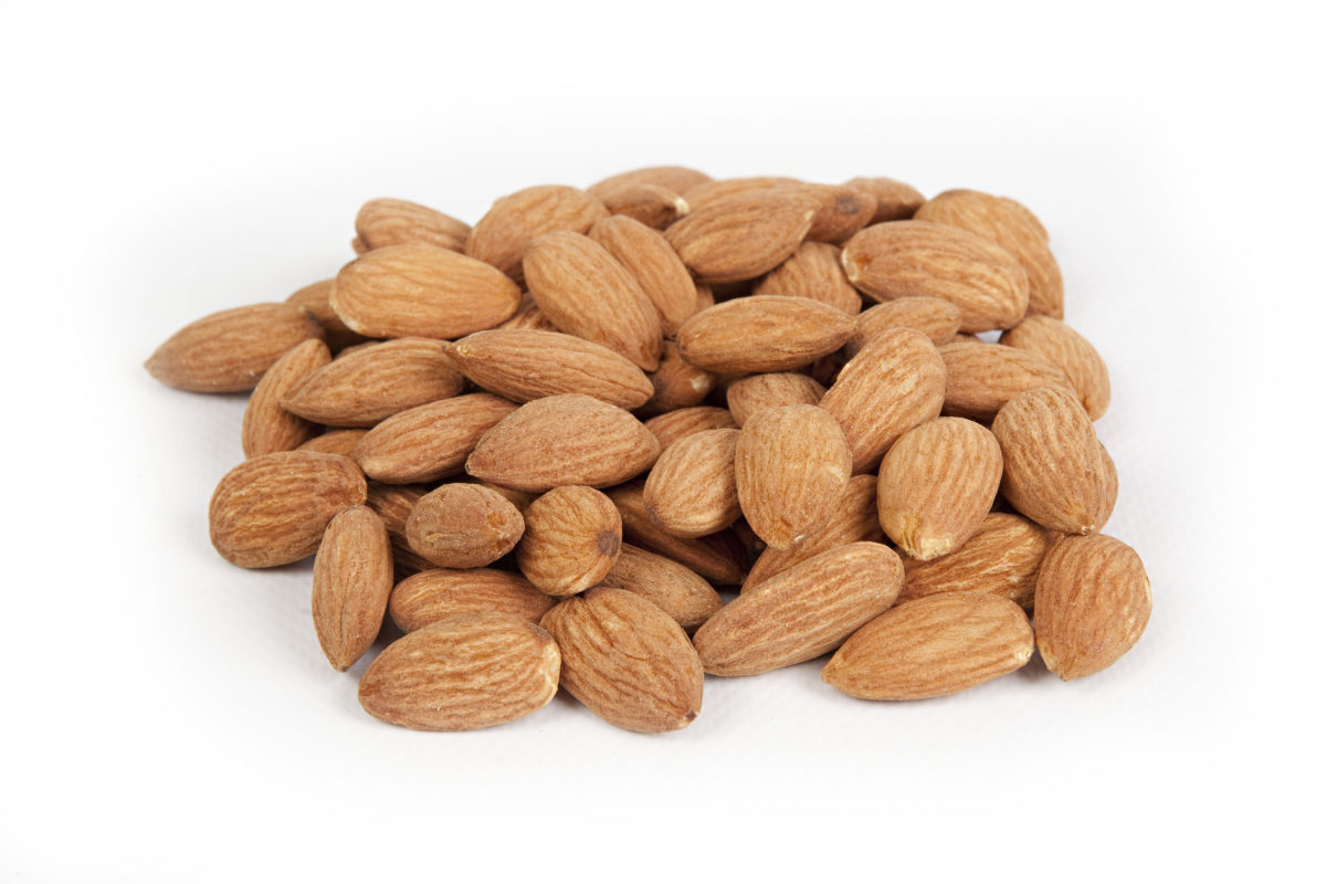 Almonds Monthly Shipment report...