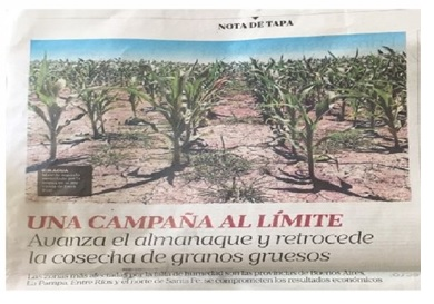 Drought in Argentina