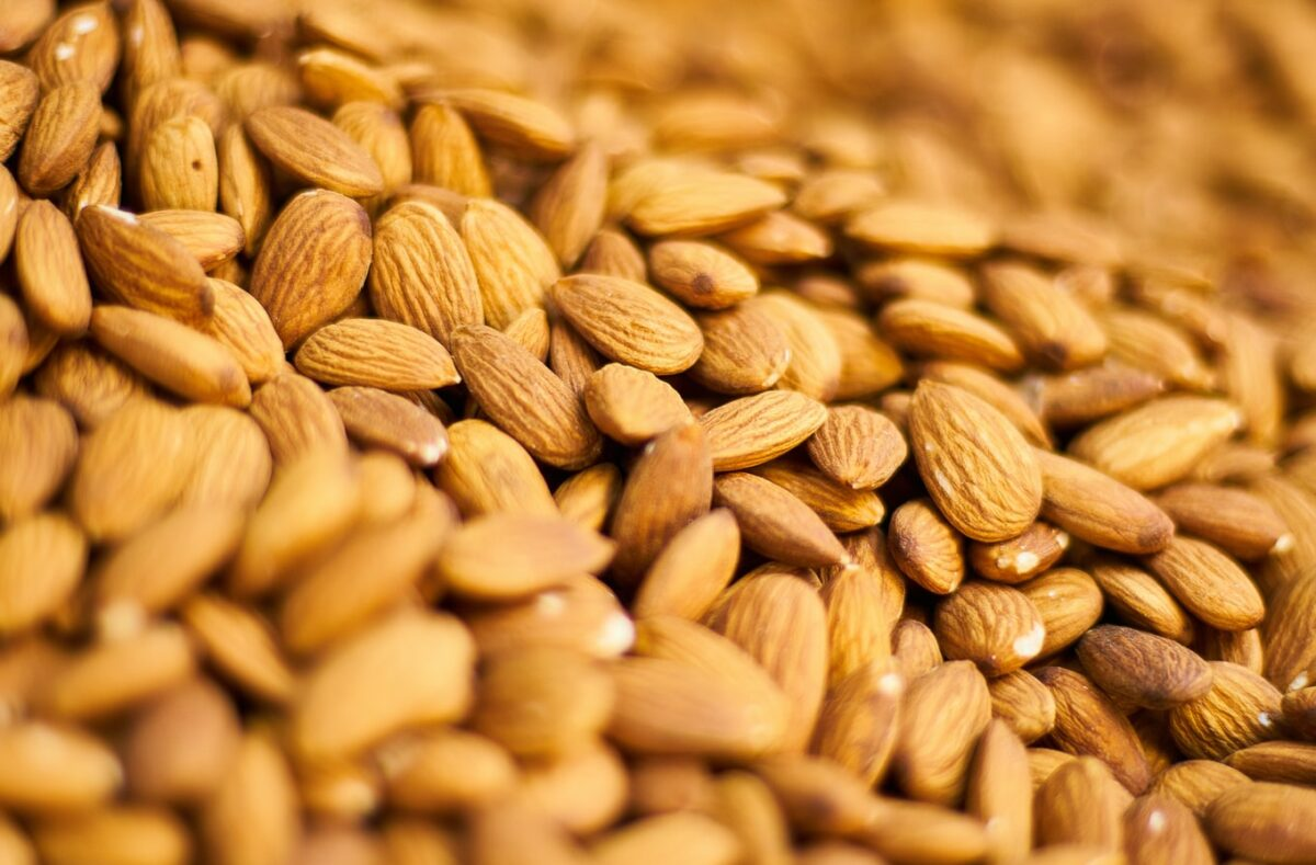 Californian Almonds Shipments up 16% on last year!!